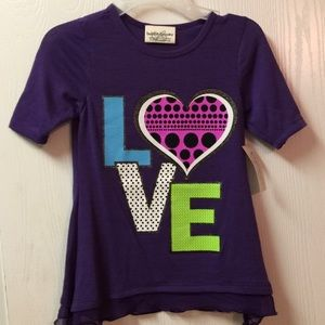 👶5/$25 Girls Bobbie Brooks Purple Top